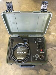 Ultralife Batteries Ch0018 1006b001 Military Battery Charger 0uu59 Power Supply
