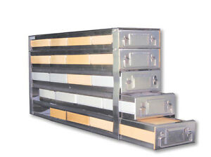 Cryogenic Stainless Steel Drawer Rack