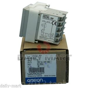 Omron Temperature Controller E5csl rp E5cslrp 100 240vac Original New In Box Nib
