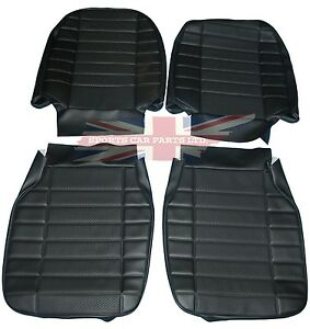 New Front Seat Covers Upholstery For Mgb 1973 76 Made In Uk