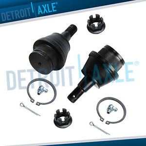 Front Driver And Passenger Lower Ball Joint Set For Chevy Cadillac Gmc