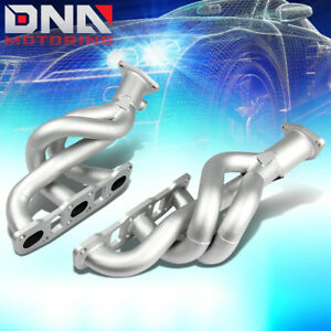 Silver Paint Finished Header For 03 06 350z G35 Fairlady Z 3 5l Exhaust Manifold