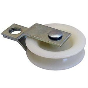 100 1 3 4 Nylon Pulleys With Split Bracket
