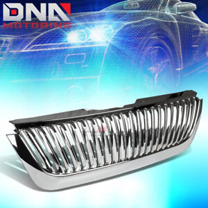 2002 2005 Ford Explorer Chrome Abs Vertical Style Front Sport Grill Grille Cover