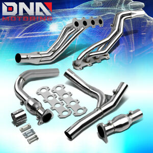 Stainless Steel Header For 04 10 Ford F150 lobo 5 4l V8 Pickup Exhaust manifold