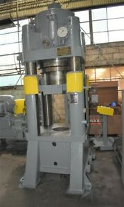 400 Ton Verson 4 post Down acting Hydraulic Press 27136