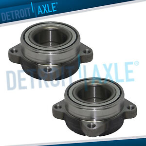 New 2 Front Wheel Hub And Bearing Assembly For Acura Cl Tl Honda Accord V6