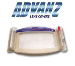24 Advanz Lens Cover Paint Spray Foam Rig Tools Mask Goggle Overspray Tool