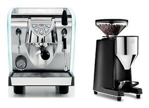 Simonelli Musica Lux Pour Over Espresso Coffee Machine Chrome G60 Barista Kit