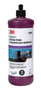 3m 6064 Perfect it Machine Polish 1 Qt 06064