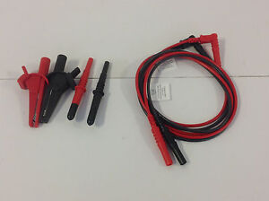 Test Leads For Electrical Testers