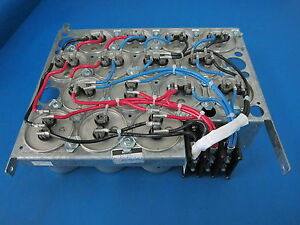 Ronken 20 Mf 660 Ac 60 Hz 15 Capacitor Array And Dist Block Assembly