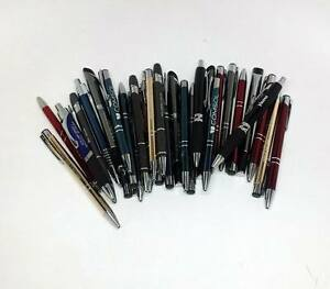 Lot Of 1 000 wholesale Misprint Metal Retractable Pens assorted
