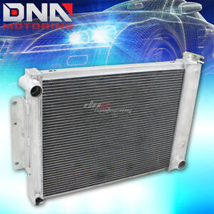 For 1967 1969 Chevy Camaro firebird F body 3 row Full Aluminum Racing Radiator