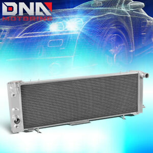 For 1991 2001 Jeep Cherokee comanche 2 5 4 0 3 row Full Aluminum Racing Radiator