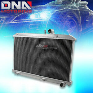 For 2004 2011 Mazda Rx8 1 3l 2 Row Performance Full Aluminum Cooling Radiator