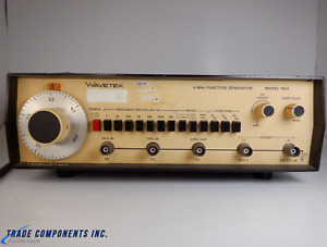 Wavetek 4mhz Function Generator Model 182a