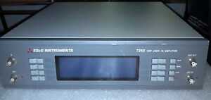 Eg g Instruments 7260 Dsp Lock In Amplifier