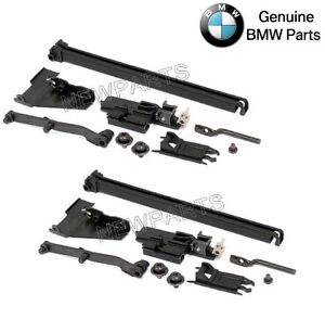 For Bmw E39 5 Series E53 X5 Set Of Left Right Sunroof Control Rail Kit Genuine