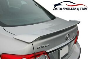 287 Painted Factory Style Spoiler Fits The 2009 2013 Toyota Corolla