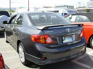287 Primered Factory Style Spoiler Fits The 2009 2013 Toyota Corolla