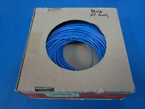 20 Awg Awm Style Blue Tin Coated Stranded Wire 100m 328 Lapp Kabel Gmbh German