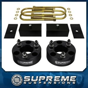 2005 2011 Dodge Dakota 2wd 3 Front 3 Rear Full Lift Kit W Alignment Shims