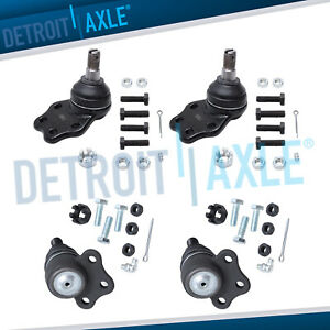 For 1997 1998 1999 Dodge Dakota Durango 2wd Front Upper And Lower Ball Joint Set