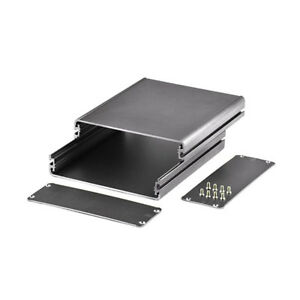 Split Body Aluminum Box Pcb Enclosure Case Project Electronic Diy 140 122 45mm