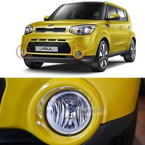 Oem Genuine Parts Fog Light Lamp Assembly Conector Lh Rh For Kia 2014 2016 Soul