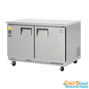 Everest Etbf2 48 Double Door Undercounter Freezer