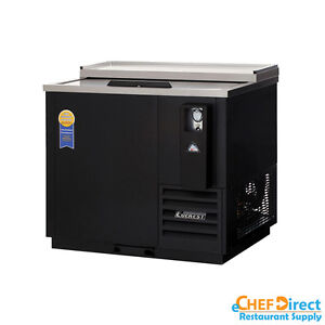Everest Ebc37 36 Single Slide Door Horizontal Bottle Cooler