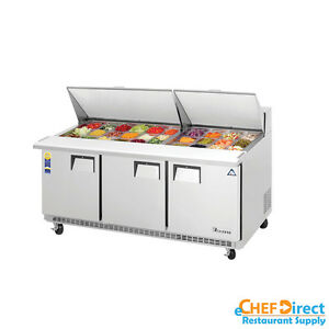 Everest Epbr3 72 Mega Top Sandwich Prep Table