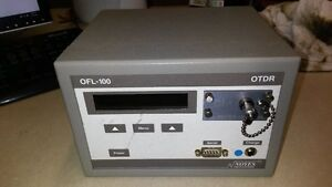 Used Noyes Ofl 100 Dm Otdr Optical Time Domain Reflectometer Model Ofl100 dm st