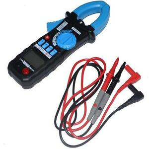 Acm01 Digital Ac Clamp Meter Tester R Continuity Work Backlight Buzz Data Hold