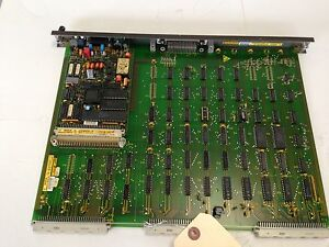 Used Bosch Cnc 1070069448 101 Nc sps Bit Pcb Card Circuit Board Fb