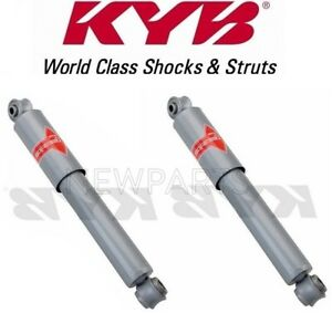 For Chevrolet Corvette 63 82 Rear Set Of 2 Shock Absorbers Kyb Gas A Just Kg5501