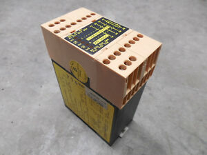 Used Jokab Rt6 24vdc Safety Relay Module