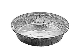 Handi foil 9 Round Foil Take out cake Pan no Lids disposable Container 25 pk