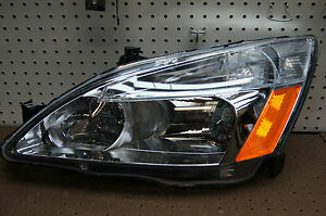 2003 2007 Honda Accord Sedan Or Coupe Lh Headlight Aftermarket Tyc 2004 2005 06
