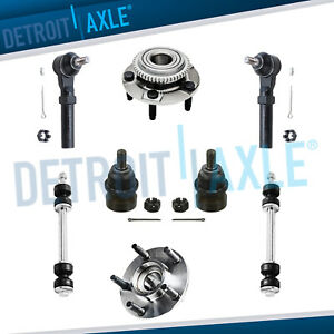 1994 2004 Ford Mustang Front Wheel Bearing Set Lower Ball Joint Tie Rod Sway Bar