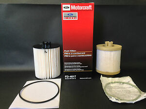 New Genuine Oem Ford Motorcraft Diesel Fuel Filter Fd4617 8c3z 9n184 c Free Ship