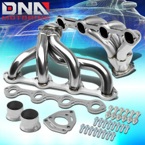 For Ford 289 302 351 V8 Small Block Hugger Stainless Manifold Tight Fit Header