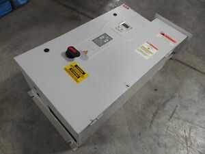 Used Abb Ach550 bc 031a 4 b055 f267 Enclosed Variable Frequency Drive 20 Hp
