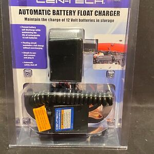 Centech Automatic Battery Float Charger Car Motorcycle Atv Snowmobile 12v New