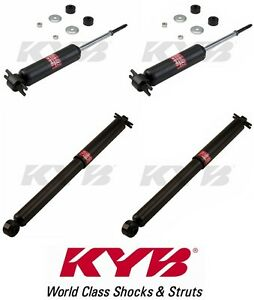 Kyb Set Of 4 Shock Absorbers For Gmc Sonoma 2wd 1995 2003