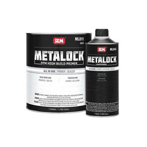 1 Gallon Sem Metalock Gray Dtm High Build Primer And 1 Quart Hardener Kit Ml010