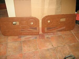 New Pair Of Door Panels For Mgb 1977 80 Autumn Leaf Top Quality Made In The Uk