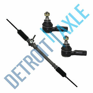 New Manual Steering Rack And Pinion Assembly 2 Outer Tie Rod Festiva Aspire