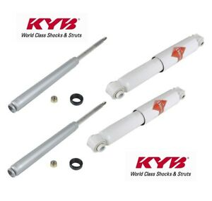 For Kyb 4 Struts Shocks Porsche 924 944 2 85 86 87 88 Suspension Kit